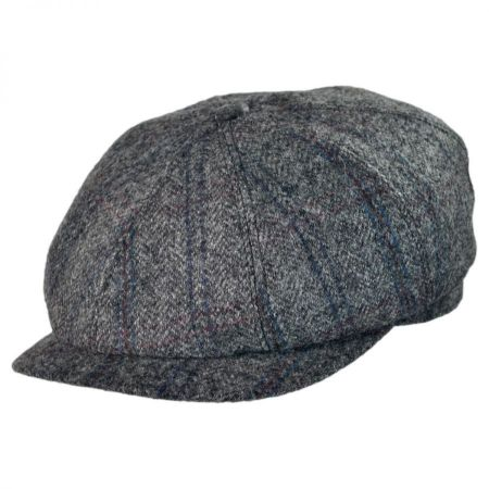 Jaxon Hats English Check Newsboy Cap