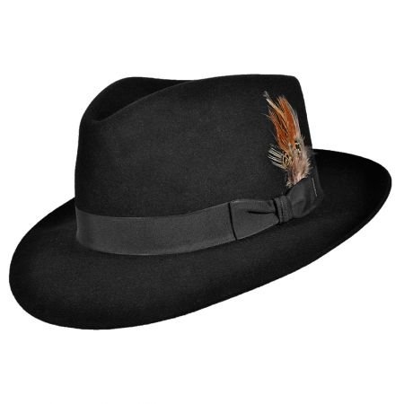 Chatham Fur Felt Fedora Hat alternate view 16