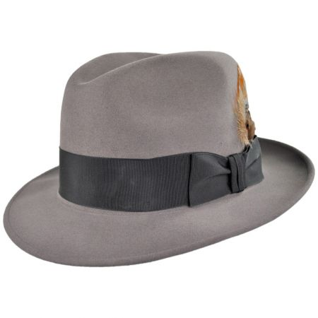 Saxon Royal Fur Felt Fedora Hat alternate view 1