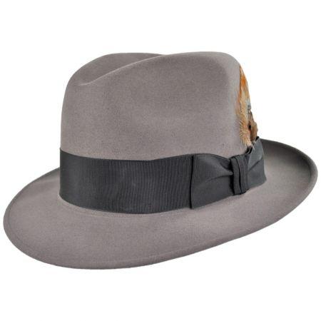 67086ed3217c35 Stetson Saxon Royal Fur Felt Fedora Hat Fur Felt