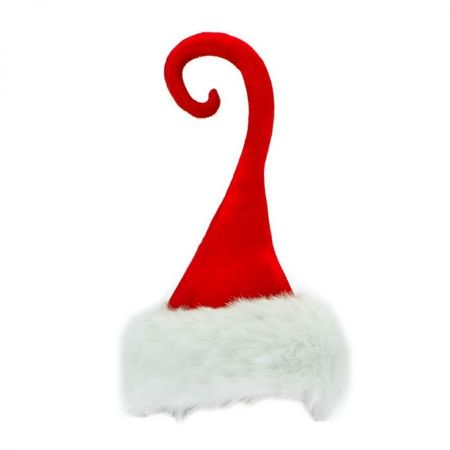 Curly-O Santa Hat