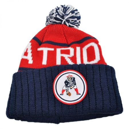 Mitchell & Ness New England Patriots High 5 Beanie