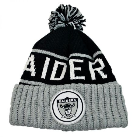 Mitchell & Ness Oakland Raiders High 5 Beanie