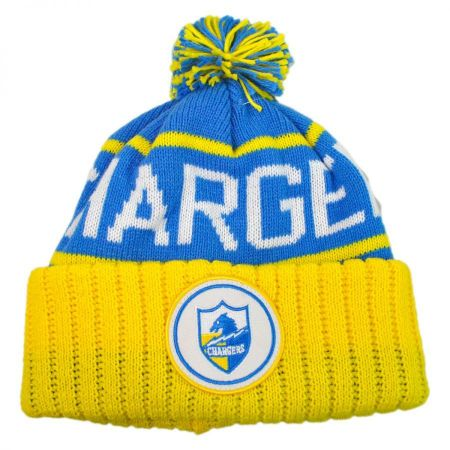 Mitchell & Ness San Diego Chargers High 5 Beanie