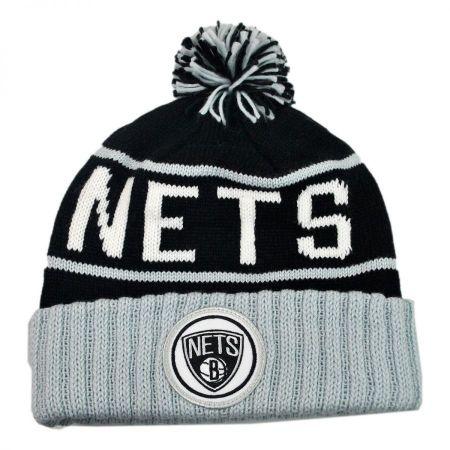 Mitchell & Ness Brooklyn Nets NBA High 5 Beanie