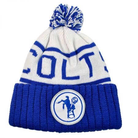 Mitchell & Ness Indianapolis Colts NFL High 5 Beanie