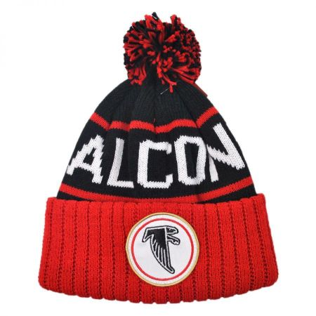 Mitchell & Ness Atlanta Falcons High 5 Beanie