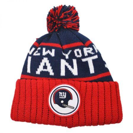 Mitchell & Ness New York Giants NFL High 5 Beanie