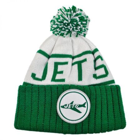 Mitchell & Ness New York Jets High 5 Beanie