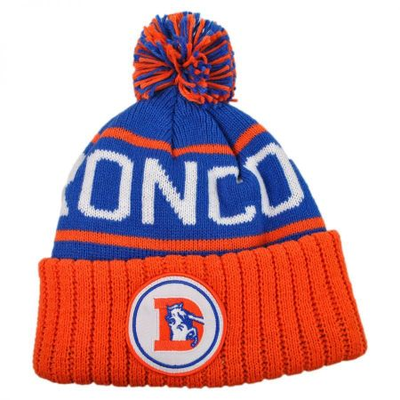 Mitchell & Ness Denver Broncos High 5 Beanie