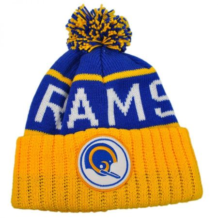Mitchell & Ness Los Angeles Rams NFL High 5 Beanie