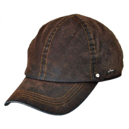 Wigens Caps Suede Denim Baseball Cap with Earflaps