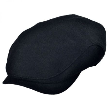 Wigens Caps Melton Wool Ivy Cap with Earflaps