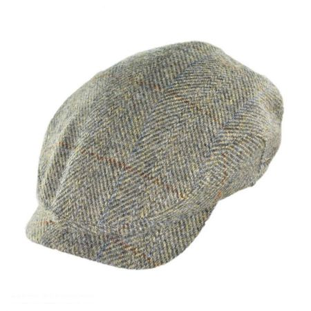 Herringbone Check Harris Tweed Wool Ivy Cap alternate view 7