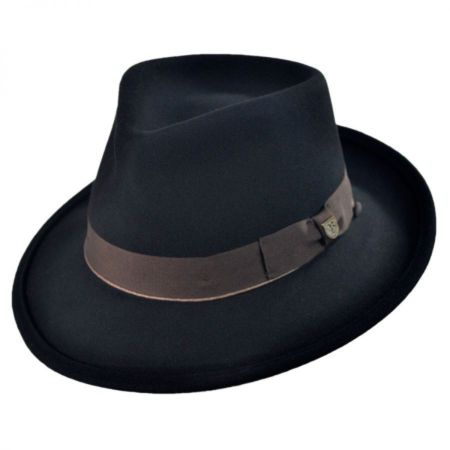 Brixton Hats Swindle Wool Felt Fedora Hat