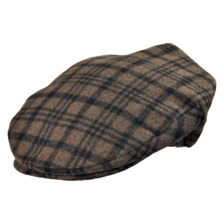 Brixton Hats Barrel Plaid Ivy Cap