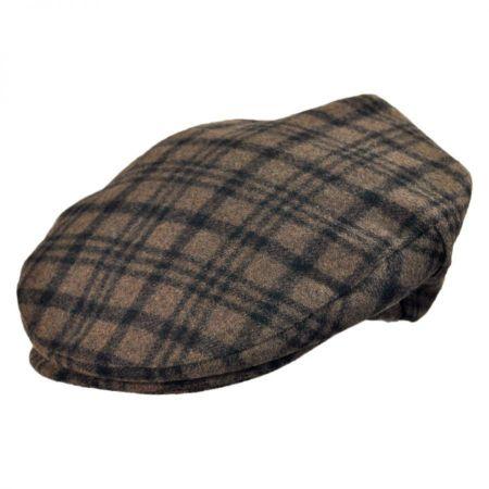 Brixton Hats Barrel Plaid Wool Blend Ivy Cap