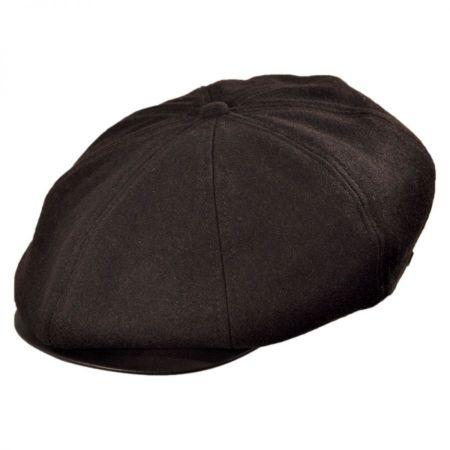 Brood Solid Newsboy Cap