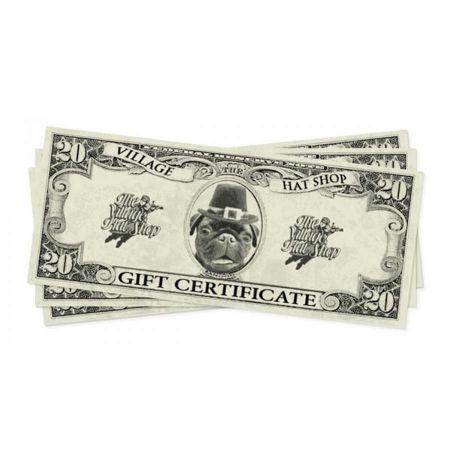 Village Hat Shop e-Gift Certificate