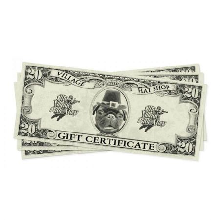 Village Hat Shop Gift Certificates