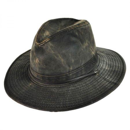 Dorfman Pacific Company Weathered Cotton Aussie Hat