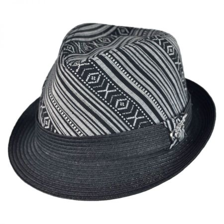 Tribal Fedora Hat