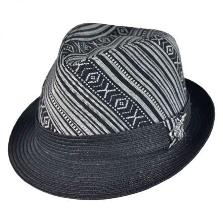 Carlos Santana Tribal Fedora Hat