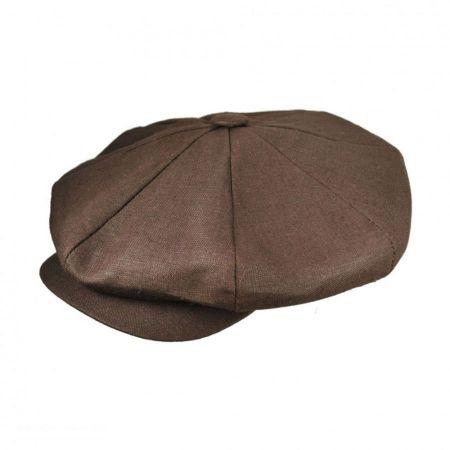 New York Hat Company Linen Big Apple Cap