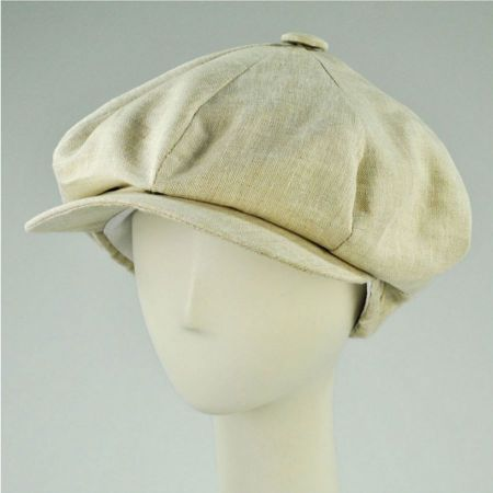 New York Hat Company Big Apple Cap-Linen