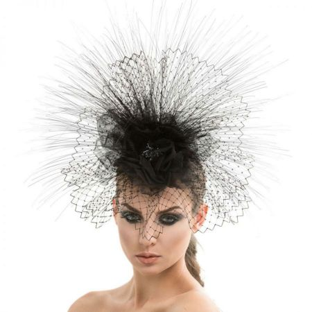 Arturo Rios Collection Mila Fascinator Hat