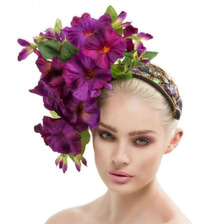 Arturo Rios Collection Petunia Headband