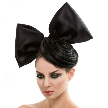 Arturo Rios Collection Rosette Fascinator Hat