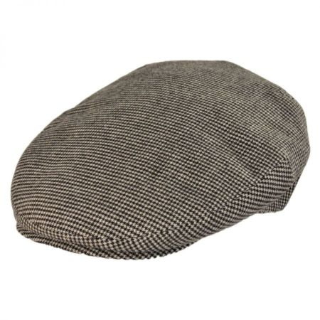 Borsalino 5 Point Houndstooth Ivy Cap