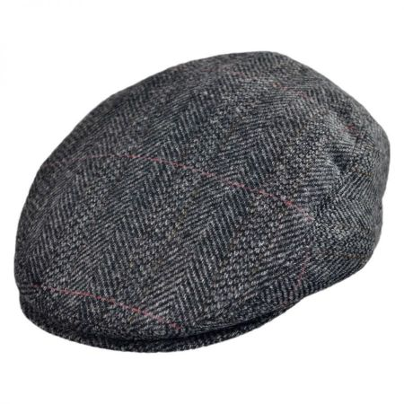 Jaxon Hats English Herringbone Ivy Cap