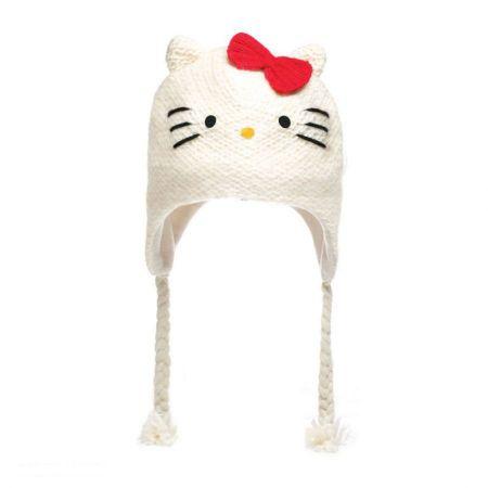 Hello Kitty Peruvian Beanie Hat