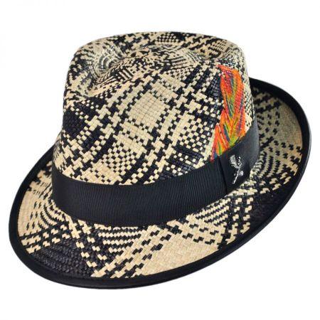 Carlos Santana Fenix Panama Straw Fedora Hat
