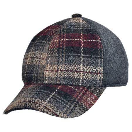 Bigalli Bigalli - Plaid Solid Baseball Cap