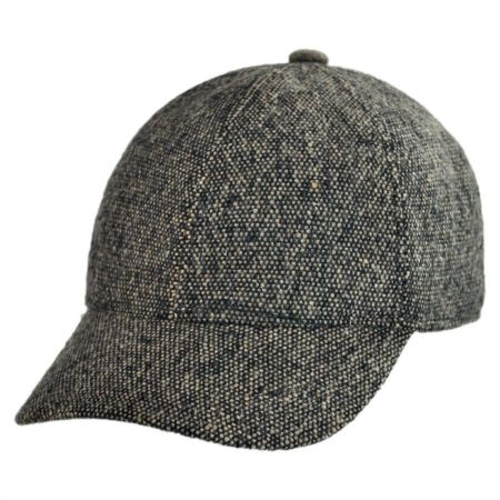 Bigalli Bigalli - Tweed Baseball Cap