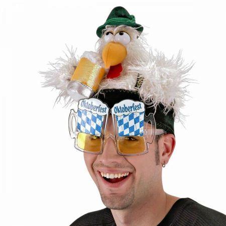 Elope Oktoberfest Clucky Chicken Hat
