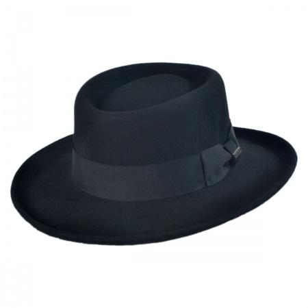 B2B Jaxon Wool Felt Gambler Hat
