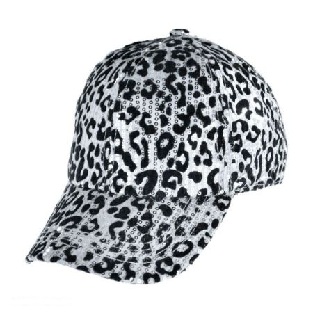 Something Special Something Special - Leopard Sequin Baseball Cap