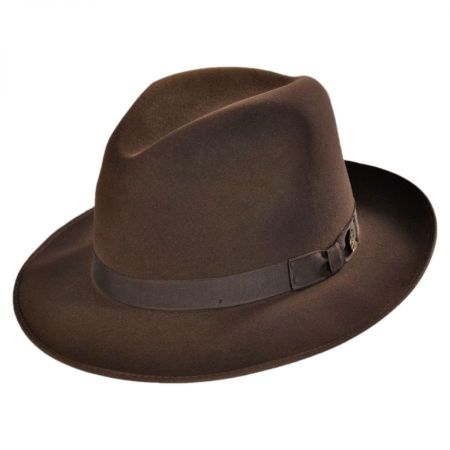Runabout Packable Fur Felt Fedora Hat