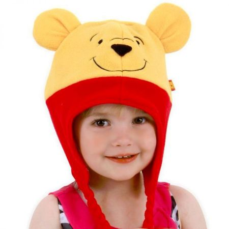 Elope Pooh Peruvian Hoodie Hat