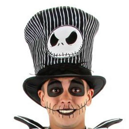 Jack Skellington Top Hat alternate view 1