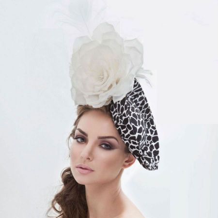 Arturo Rios Collection Luna Fascinator Hat