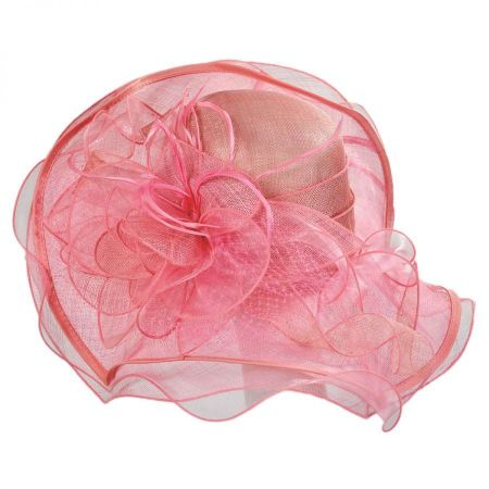 Magnolia Sinamay Straw Swinger Hat alternate view 9