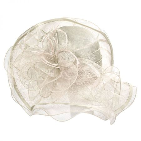 Magnolia Sinamay Straw Swinger Hat alternate view 13