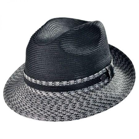 Bailey Mannesroe Polybraid Straw Fedora Hat