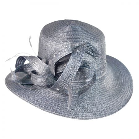 Swan Moonlight Boater hat