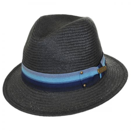 Hatch Hats Striped Fedora Hat
